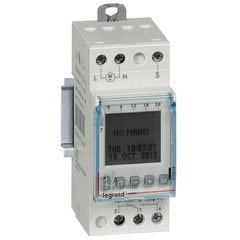 Programmable time switch digital disp. for outdoor illuminations 1 output